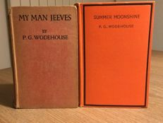 P.G. Wodehouse - My Man Jeeves & Summer Moonshine - 2 volumes - 1919/1938
