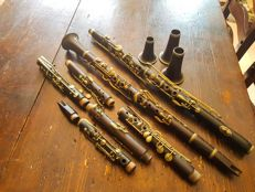 Antique marked clarinets from the 20s/30s