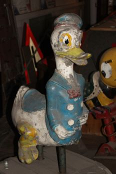 Dondald Duck, children's machine, circa 1950