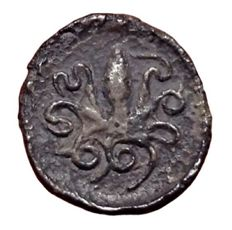 The Greek Antiquity - Sicily, 2nd Democracy - AR Litra (Silver, 12mm, 0,54g.) - Syracuse mint, struck 466-460 BC - Arethusa / Cuttle-fish  - HGC 2, 1375; SNG ANS 137-143