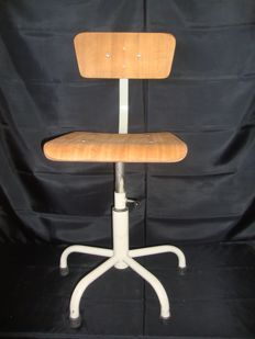 attributed to Olaio - Industrial Chair