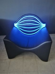 Karim Rashid design for FokasHouse - led light armchair / pattern piece