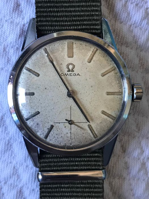 Omega Sub-Second, wristwatch from the 1950s