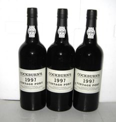 1997 Cockburn's Vintage Port – Lot 3 bottles (75cl)