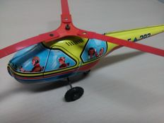 "Technofix, Western Germany - C. 33 cm ""Helicopter"" GE-293 in tin, 1958"