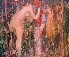 E. Phillpotts - The Girl and the Faun - 1916