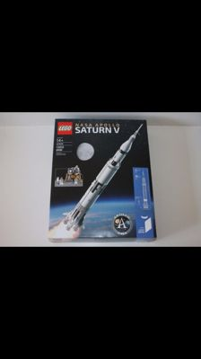 Ideas - 21309 + 10258 - Lego Nasa Apollo + Lego London Bus