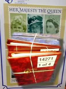 British Commonwealth - Illustrated collection, Royal Events, in 4 special albums