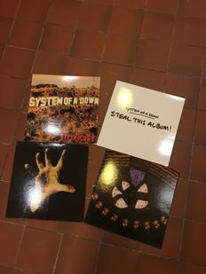 Lot of 4 System Of A Down lp's