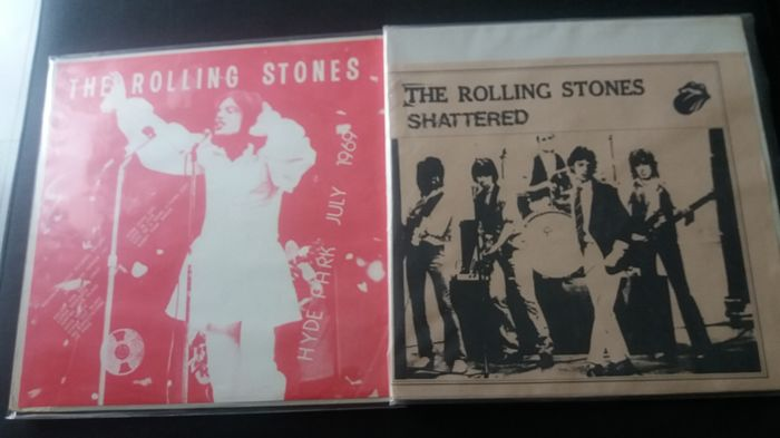 rolling stones rare album HYDE PARK july 1969 and