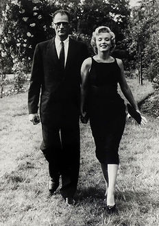 Unknown/Archivio Farabola - Marilyn Monroe & Arthur Miller, 1956