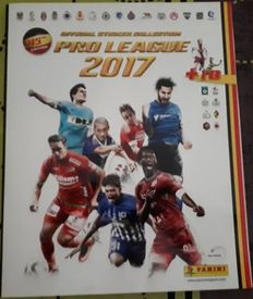 Panini - Jupiler Pro League 2017 Belgium - Complete album