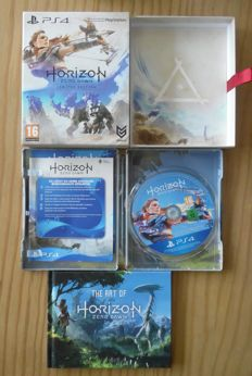 ps4 game Horizon zero dawn limited special edition compleet