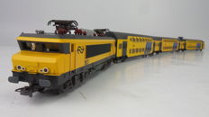 Lima H0 - 149700X07/149723K - Electric locomotive series 1600 of the NS with a string of double decker carriages of the NS