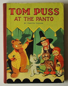 Marten Toonder - Tom Puss at the Panto - hc - 1e druk - (1949)