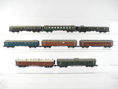 Arnold/Roco/Trix N - 8 different coaches, most of them of the DB [566]