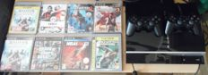 PS3 80gb complete with 2 controllers and 8 games