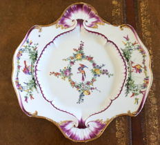 Meissen - Antique 18th Century Porcelain Platter