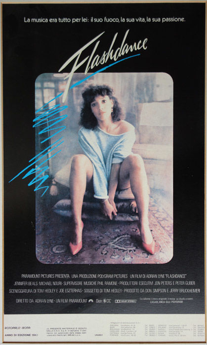Anonymous - Flashdance (Italian film poster) - 1983