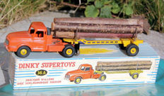 Dinky Supertoys - Scale 1/48- Tractor Willème with Semi-Trailer Fardier No.36A