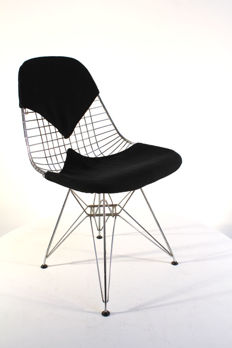 Charles & Ray Eames for Vitra - Wire chair DKR-2