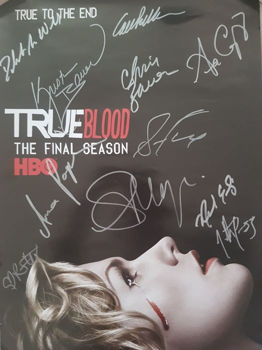 Anonymous - True Blood Final Season (signed) - 2014