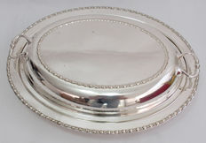 Food Warmer Serving Dish - James Deakin & Sons Late 19th Century