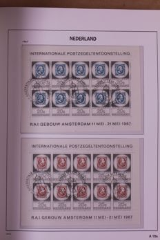 The Netherlands, 1988/2003 - Batch in 5 preprint albums and 3 stock books