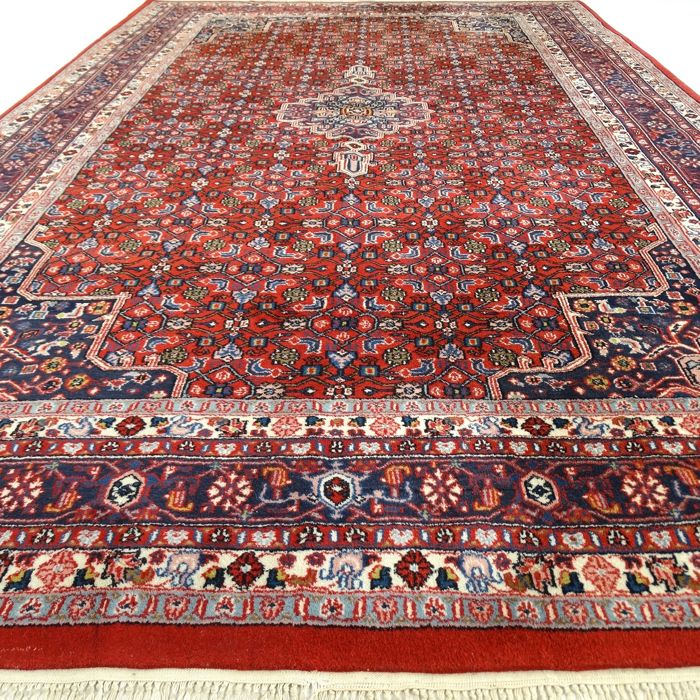 "Indo Bidjar - 304 x 196 cm - ""Large oriental carpet in beautiful, nearly unused condition"" – With certificate."