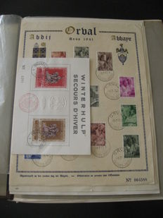 Belgium 1850/1966 – Collection of stamps
