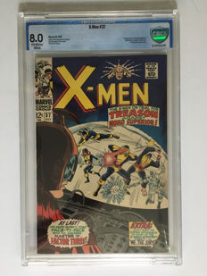 Marvel Comics - X-men #37 - CBCS Graded 8.0 -  1x sc - (1967)