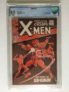 Marvel Comics - X-men #41 - CBCS Graded 8.5 - 1x sc - (1968)
