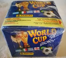 Panini - World Cup Story 1990 - 1 Original sealed box - 50 packets in the box.