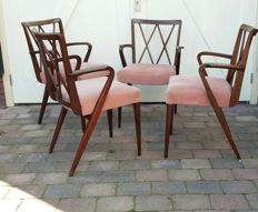 A.A. Patijn for Zijlstra Joure - vintage chairs, model Poly-Z design