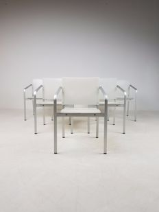 Sir Norman Foster & Partners voor Thonet - set van 6 stoelen, model A900F