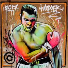 Jone Hopper - Portrait of Mohamed Ali