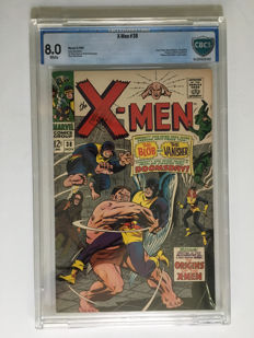 Marvel Comics - X-men #38 - CBCS Graded 8.0 -  1x sc - (1967)
