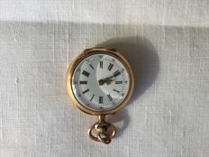 Antique watch set as a pendant