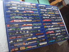 Collection - brewery trucks, advertising trucks, a few oldtimer trucks and rarities, in collector boxes, 83 items - 1995/2006