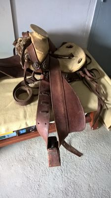Old South American Saddle - 20th century - South America
