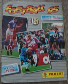 Panini - Football 1995 Belgian league - Complete album.