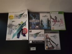 Lot final fantasy games and guide