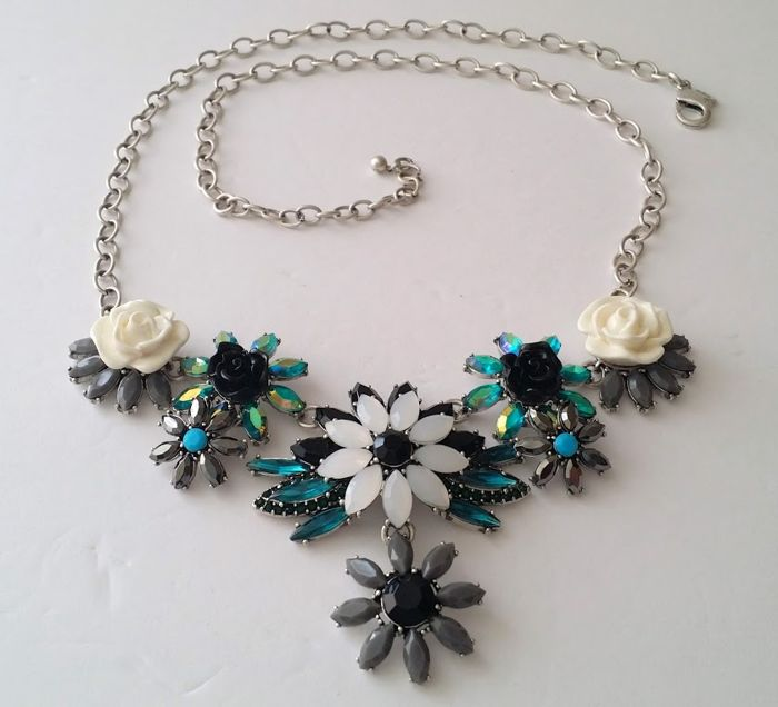 Joan Rivers Hanging Garden Floral Bib Necklace