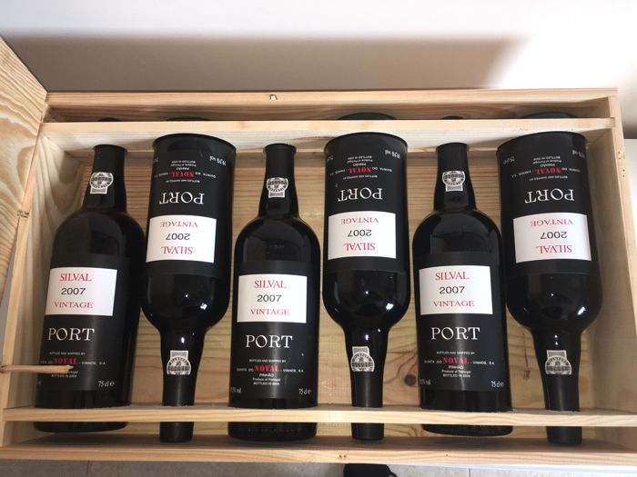 "2007 Vintage Port - Noval ""Silval"" - 12 bottles (0.75l) in 2 OWCs"