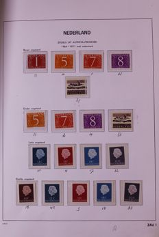 The Netherlands 1964/2000 - Complete collection of combinations from booklets in Davo LX album