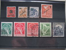 Berlin 1949/51 some good stamps from first years with Michel no. 68 tested