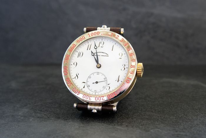 Union - Chronometre Union S.A.  Marriage watch - 06 - Men - 1850-1900