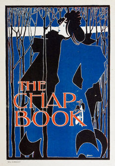 Will Bradley -  The Chap Book  (The Blue Lady)  - 1897