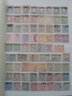 Portugal 1853/1962 – Stamp collection. Complete sets, in duplicate.