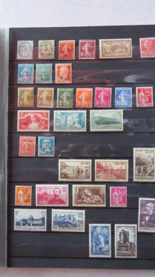 France 1900-1980 - Stamp collection.